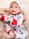 OtardDolls Munecas reborn Bebes Ninos 20 pulgada natural A mano Segura para Ninos Non Toxic Interaccion padre-hijo Morazon enraizado a mano Kid de Chico / Chica Juguet Regalo