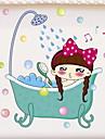 Autocolante & Benzi Desene Animate / Rezistent la apă / Adorabil Comun / Desen animat / Modern / Contemporan PVC 1 buc Decorarea băii