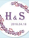 Matrimonio Adesivi, etichette e Tag - 48 pcs Circolare Adesivi / Busta Sticker Per tutte le stagioni