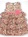 Copii Fete Leopard Fără manșon Rochie