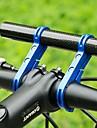 Extension de manubrio para bicicleta Porta-herramienta para Bicicleta de Pista Bicicleta de Montana Bicicleta plegable Aleacion de aluminio Ciclismo Negro Negro / Rojo Bule / negro 1 pcs