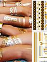 5 pcs Временные тату Временные татуировки браслет Модный дизайн / Украшение Искусство тела рука / лодыжка / Стикер татуировки