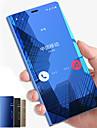 Capinha Para Samsung Galaxy Note 9 / NNote 8 Com Suporte / Espelho / Flip Capa Protecao Completa Solido Rigida PC para Note 9 / Note 8 / Note 5