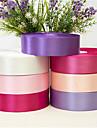 Tömör szín Terylene Esküvői szalagok - 1 pcs Darab / Set Szőtt szalag Köszönetajándék tartó díszítés / Lakodalom dekoráció