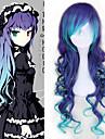 Vocaloid Megurine Luka Alles 30 Zoll Hitzebestaendige Faser Blau Anime Cosplay Peruecken