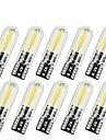 10pcs T10 Mașină Becuri 2 W COB 170 lm 2 LED Bec Semnalizare Pentru