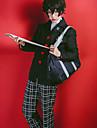 Inspirado por Serie Persona Palhaco do Mal / Amamiya Ren Anime Fantasias de Cosplay Ternos de Cosplay Xadrez Manga Longa Casaco / Blusa / Calcas Para Meninos e meninas