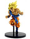 Las figuras de accion del anime Inspirado por Bola de Dragon Son Goku CLORURO DE POLIVINILO 22 cm CM Juegos de construccion muneca de juguete