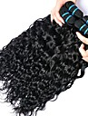 4 bundels Peruaans haar Watergolf Echt haar Menselijk haar weeft / Bundle Hair / Extentions van mensenhaar 8-28 inch(es) Natuurlijke Kleur Menselijk haar weeft Dames / uitbreiding / Beste kwaliteit