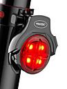 Lumini de Bicicletă / Waterproof / luminile din spate LED Lumini de Bicicletă LED Ciclism Rezistent la apă, Portabil, Profesional Li-polymer 50 lm Putere reîncărcabilă Roșu Camping / Cățărare / ABS