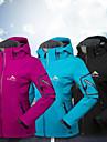 Women\'s Hiking Fleece Jacket Outdoor Winter Waterproof Windproof Rain Waterproof Breathability Jacket Winter Jacket Softshell Single Slider Ski / Snowboard Camping / Hiking / Caving Mountaineering