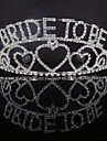 Alloy Tiaras with Crystals 1 Piece Wedding / Special Occasion Headpiece