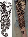 3 pcs Временные татуировки Тату с тотемом / Тату с цветами Гладкий стикер / Экологичные / Одноразового использования Искусство тела Корпус / рука / ножка / Временные татуировки в стиле деколь