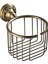 トイレットペーパーホルダー 新デザイン アンティーク 真鍮 1個 壁式