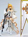 Anime Action Figures Inspired by Fate / Zero Saber PVC(PolyVinyl Chloride) 24 cm CM Model Toys Doll Toy
