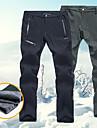 Homme Pantalons de Ski Etanche Chaud Design Anatomique Ski Camping / Randonnee Snowboard Polyester Spandex Flanelle de Laine Pantalons Chauds Tenue de Ski / Hiver