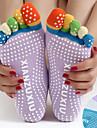 Women\'s Grip Yoga Socks Five Toe Socks Anti-skidding / Non-Skid / Antiskid Sweat-wicking Non Slip For Pilates Bikram Barre
