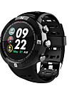 NO.1 F18 Άντρες Έξυπνο ρολόι Android iOS Bluetooth GPS Αθλητικά Αδιάβροχη Συσκευή Παρακολούθησης Καρδιακού Παλμού Οθόνη Αφής / Θερμίδες που Κάηκαν / Μεγάλη Αναμονή / Χρονόμετρο / Βηματόμετρο