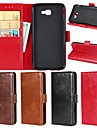 Capinha Para Samsung Galaxy J7 Perx / J4 Carteira / Porta-Cartao / Com Suporte Capa Protecao Completa Solido Rigida couro legitimo para J7 Prime / J7 Perx / J7 (2016)