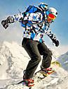 Wild Snow Homme Veste et Pantalons de Ski Etanche Coupe Vent Respirable Ski Sports d\'hiver Ensemble de Vetements Tenue de Ski