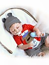 NPKCOLLECTION NPK DOLL Reborn Doll Baby Boy 18 inch Full Body Silicone Vinyl - Newborn Gift Cute Kid's Boys' Toy Gift