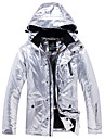 ARCTIC QUEEN Homme Femme Veste de Ski Etanche Coupe Vent Chaud Ski Camping / Randonnee Snowboard Ecologique Polyester Veste Veste Coupe Vent Hauts / Top Tenue de Ski / Hiver