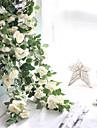 Kunstbloemen 1 Tak Wandgemonteerd Geschorst Bruiloft Pastoraal Stijl Rozen Bloemen voor op de muur