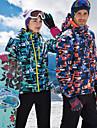 SCALER® Femme Veste de Ski Etanche Chaud Coupe Vent Ski Camping / Randonnee Snowboard Coton Polyester Veste Hiver Tenue de Ski