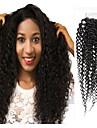 שיער ברזיאלי 4x4 סגר / חלק חינם מתולתל חלק חינם תחרה שווייצרית שיער בתולי בגדי ריקוד נשים משיי / הגעה חדשה / עבה Party / מתנה / רשמי / שחור