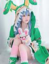 Inspirado por Date A Live Yoshino / Anime de biscoito Anime Fantasias de Cosplay Ternos de Cosplay Estampa Colorida Manga Longa Peitilho / Casaco / Blusa Para Mulheres