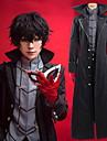 Inspired by Persona 5 Joker / Ren Amamiya / Akira Kurusu Anime Cosplay Costumes Cosplay Suits Solid Colored Coat / Top / Pants For Men\'s / Women\'s / Gloves