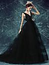 البجعة السوداء فساتين نسائي Film Cosplay أسود فستان Halloween مهرجان حفلة تنكرية الأورجانزا
