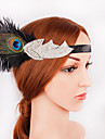 The Great Gatsby 1920s The Great Gatsby Costume Women\'s Flapper Headband Head Jewelry Black Vintage Cosplay Party Prom Festival