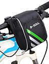 B-SOUL 1.2 L Bike Handlebar Bag Portable Wearable Durable Bike Bag Nylon Bicycle Bag Cycle Bag Cycling Outdoor Exercise Bike / Bicycle