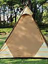 Sheng yuan 4 شخص خيمة التخييم العائلية في الهواء الطلق ضد الهواء مكتشف الأمطار التنفس إمكانية طبقة واحدة قطب الماسورة خيمة التخييم 2000-3000 mm إلى Camping / Hiking / Caving تنزه قماش اكسفورد