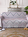Sofa Throw, Striped Cotton / Polyester Tassel Blankets