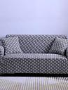 Cuvertură de canapea Geometric / #D / Clasic Fir Vopsit Satin Țesut Elastic slipcovers
