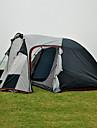 3 osoby Rodinné kempování stan Outdoor Větruvzdorné Odolné vůči dešti Nositelný dvouvrstvé Tyč Camping Tent 1500-2000 mm pro Rybaření Kempování a turistika cestování Skleněné vlákno Tkanina Oxford