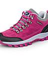 สำหรับผู้หญิง รองเท้าวิ่ง รองเท้าผ้าใบ ยาง TPU (Thermoplastic Polyurethane) เดินทาง เดินเท้า วิ่ง Lightweight ระบายอากาศ สบาย หนังสัตว์ สีดำ สีบานเย็น ม่วง