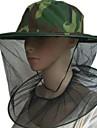 Homens / Mulheres chapeu de caca Respiravel, Anti-Insectos, Repelente de Insetos Acampar e Caminhar / camuflagem