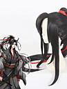 Στολές Ηρώων Στολές Ηρώων Περούκες για Στολές Ηρώων Όλα 40 inch Ίνα Ανθεκτική στη Ζέστη Μαύρο Anime