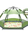 4 osoby automatický stan Outdoor Odolná proti UV záření Odolné vůči dešti UPF50+ dvouvrstvé Automatický Camping Tent 2000-3000 mm pro Kempování a turistika PU kůže 240*240*135 cm