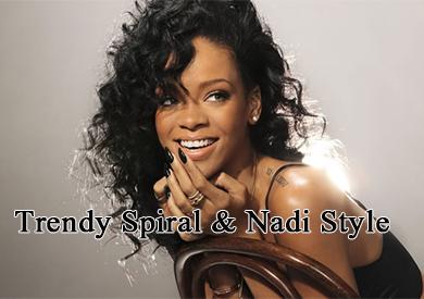 brazilian spiraal & Nadi virgin hair