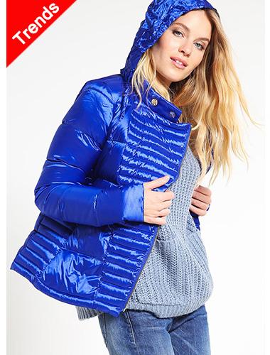 Dámské barevné kabáty