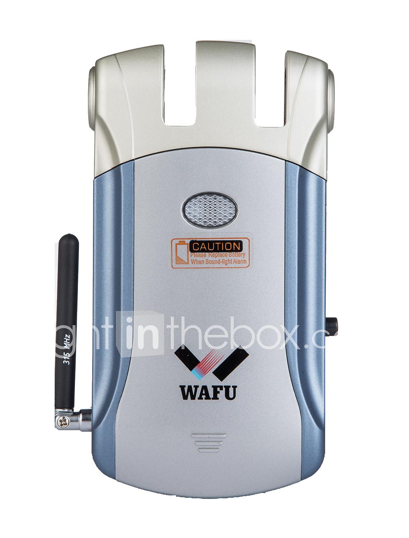 Wafu Zinc Alloy Metal Remote Lock Smart Home Security System Villa Office Stainless Steel Door